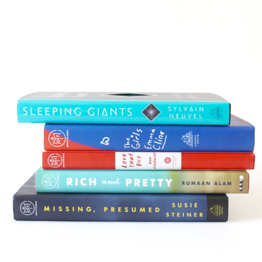 July Book of the Month Selections 1