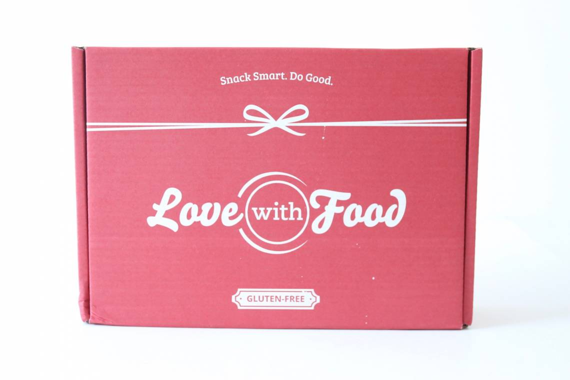Love With Food Gluten-Free Box Review July 2016 1