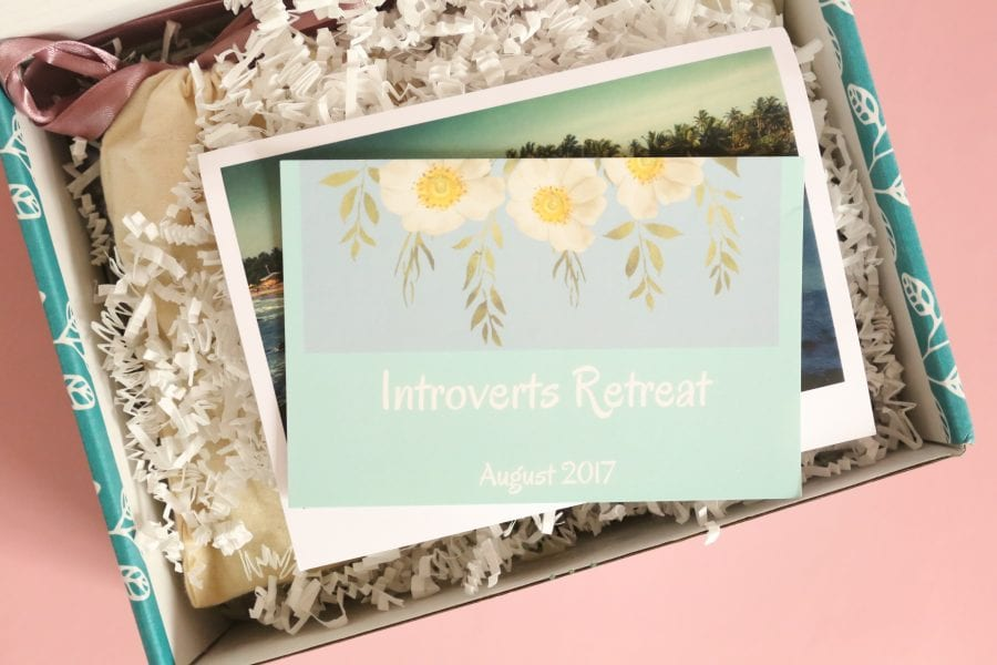 A Year of Boxes™ | Introverts Retreat Review August 2017 ...